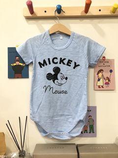 MICKEY竹節棉包屁衣