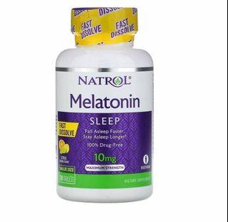 Natrol Melatonine 10mg Citrus Tablet Sweets