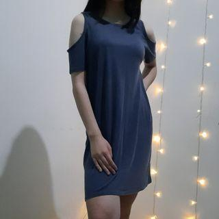 FREE ONGKIR Navy Dress Cotton On