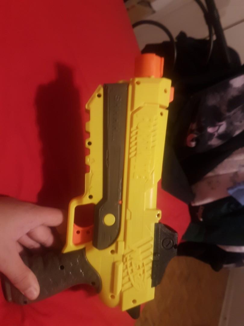 Nerf pistol (no silencer)