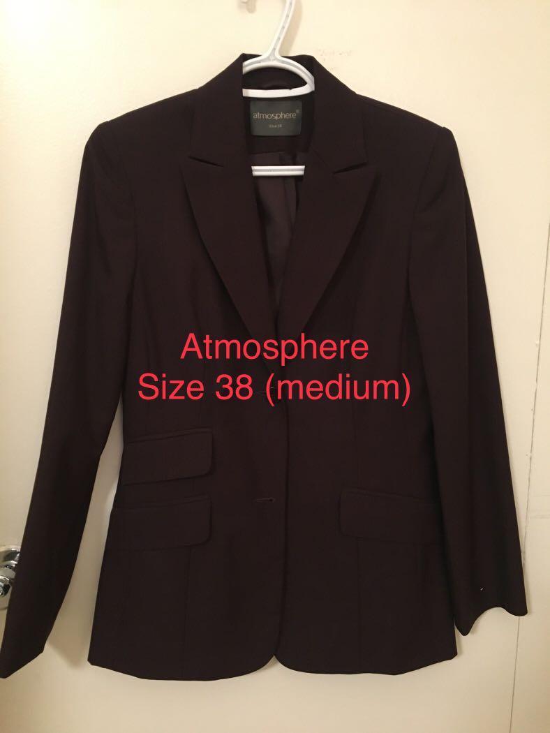 NEW Atmosphere blazer/jacket