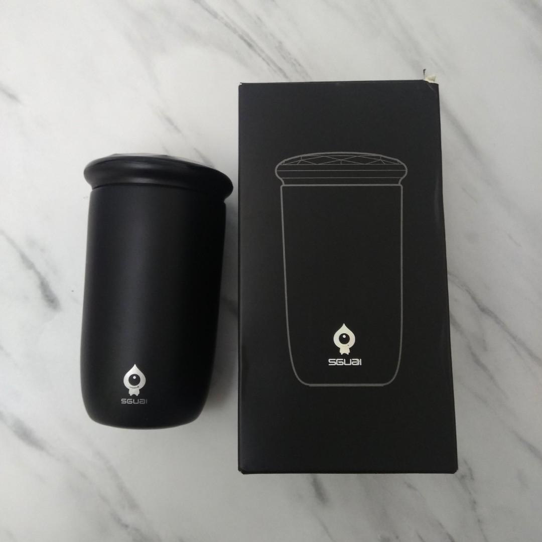 New smart water bottle lower temperature♥️小水怪 智能 降溫杯 僅試用 打開拍照
