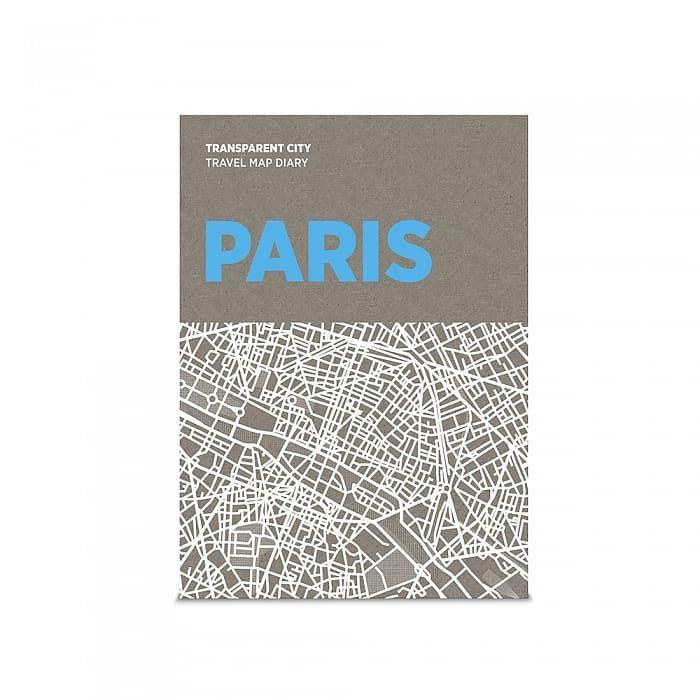 palomar 描一描城市透明地圖 巴黎!旅行筆記|高質感裝幀|設計收藏品(只有兩本)