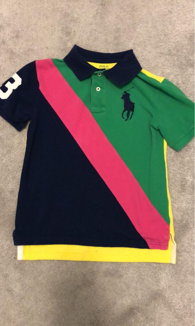 Ralph Lauren Multi- Coloured Golf Shirt