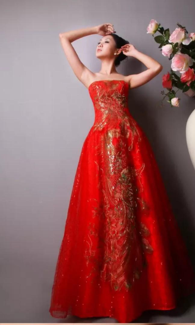 Red Gown rental