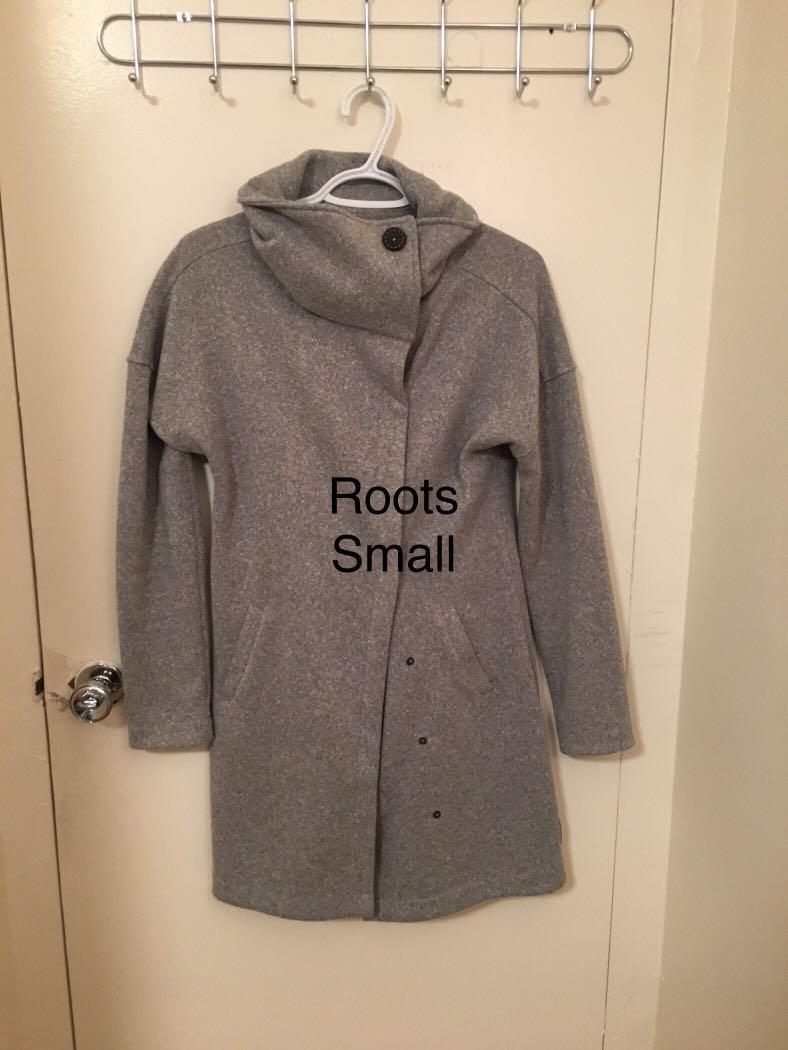 Roots sweater jacket