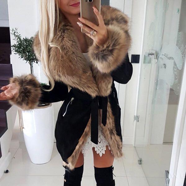 SEXY WOMENS FURRY JACKET | fur coat girls