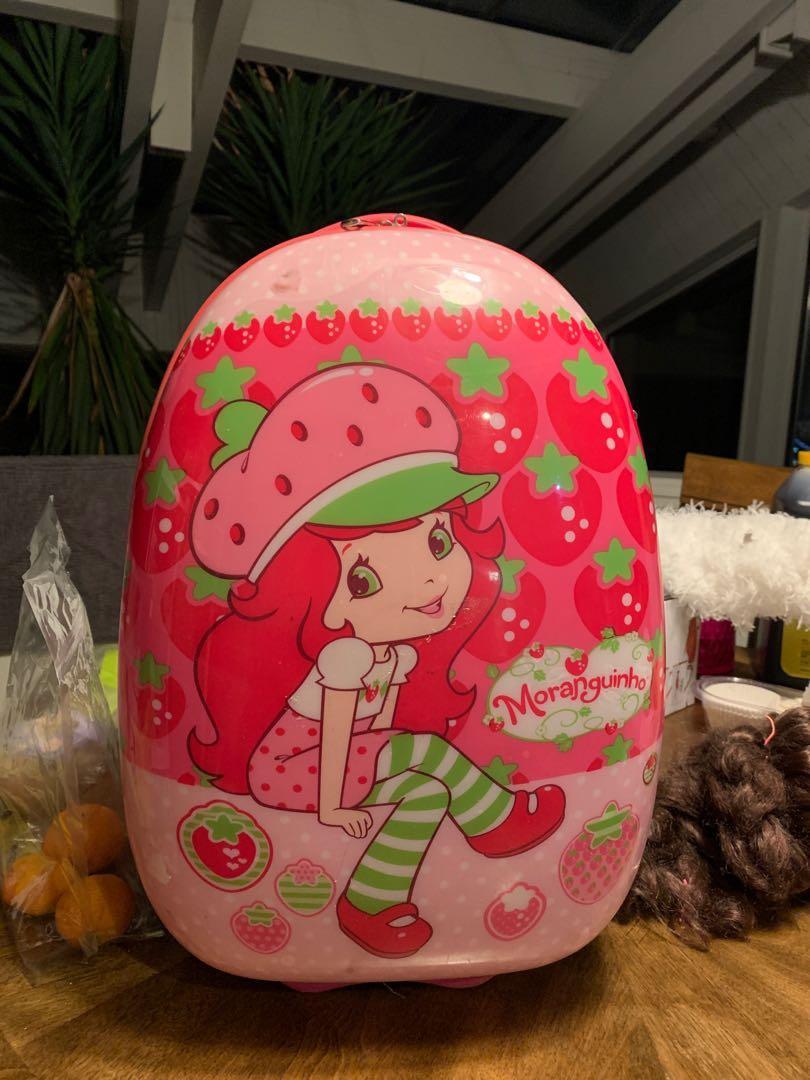 strawberry short cake small luggage