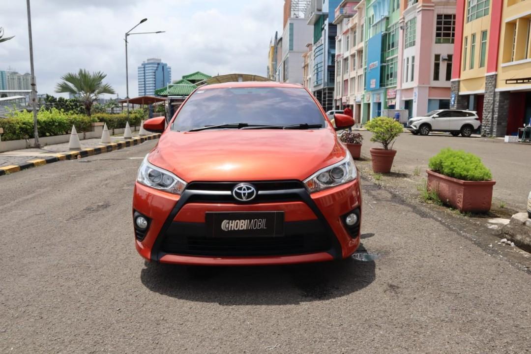 Toyota Yaris G Metik Tahun 2015 Dp 26Jt Garansi Mesin 1 thn
