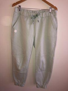 Under Armour Sleep Recovery Track Pants in Mint Colour