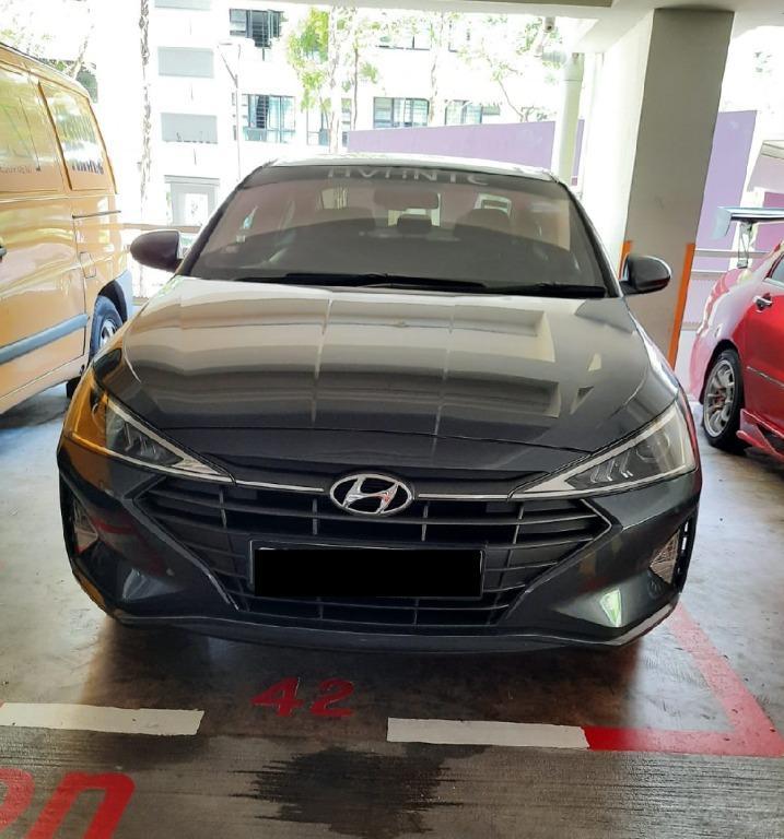 2019 Hyundai Avante cheap rent