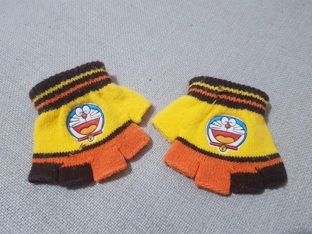 幼童露指可愛手套
