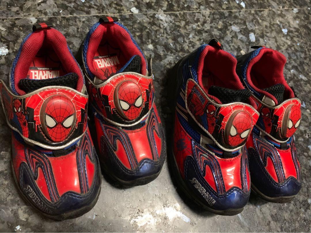 男童蜘蛛人鞋
