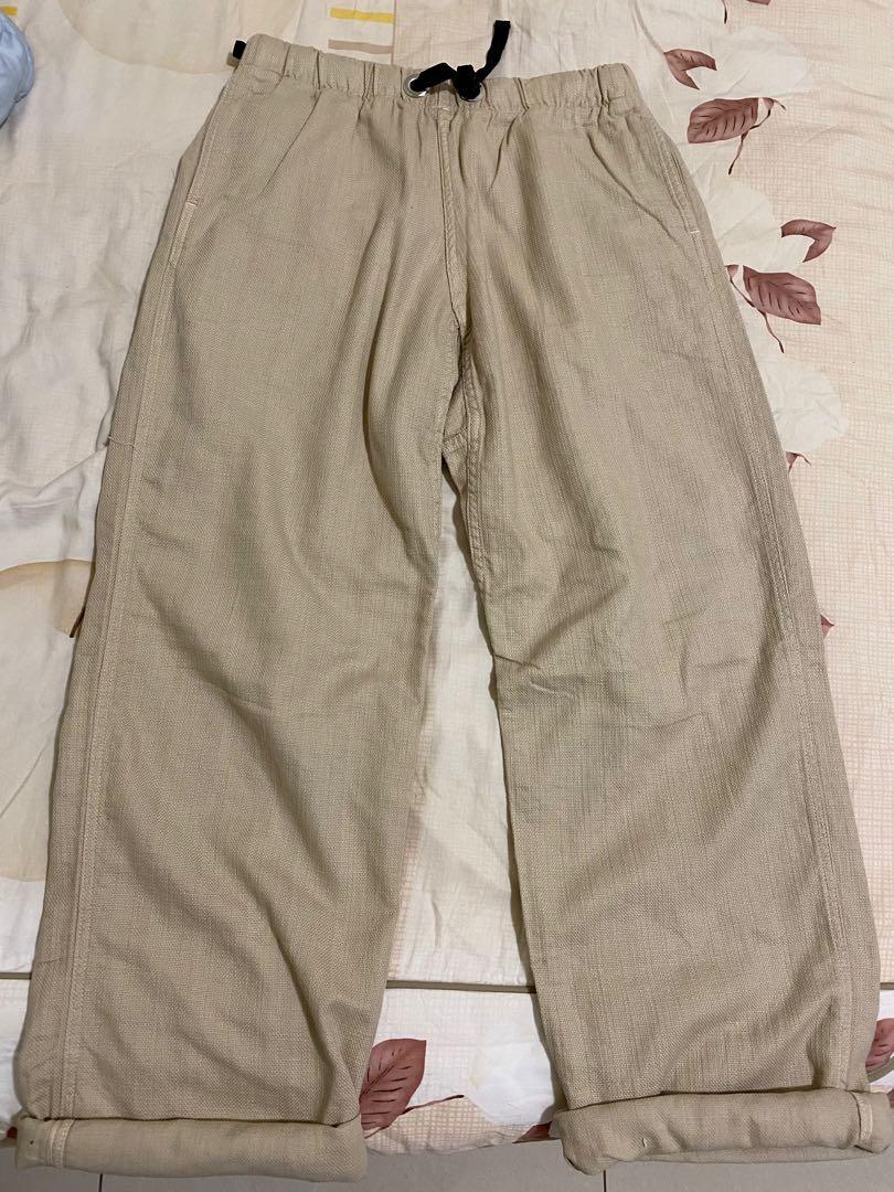 日製寬褲 L號 95% 1000