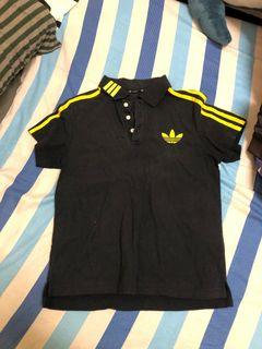 Adidas短袖polo上衣#戶外