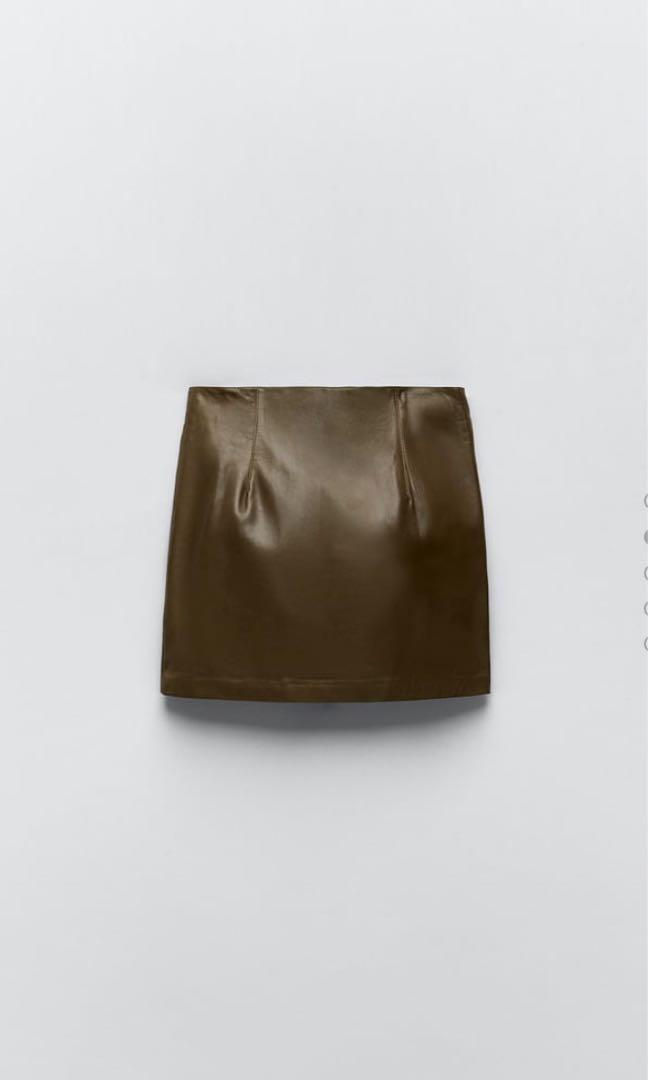 Authentic Leather Skirt.