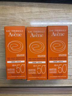 Avène低敏防曬乳5ml 3入