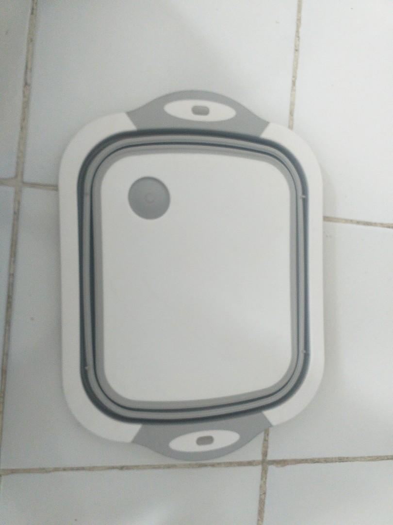 Baskom lipat silikon