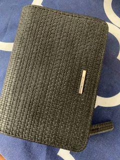 bershka wallet dompet hitam
