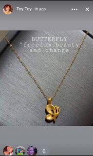 Butterfly Light weight Necklace