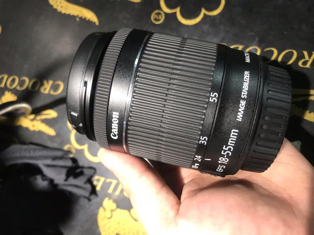 Canon 18-55mm kit lens.