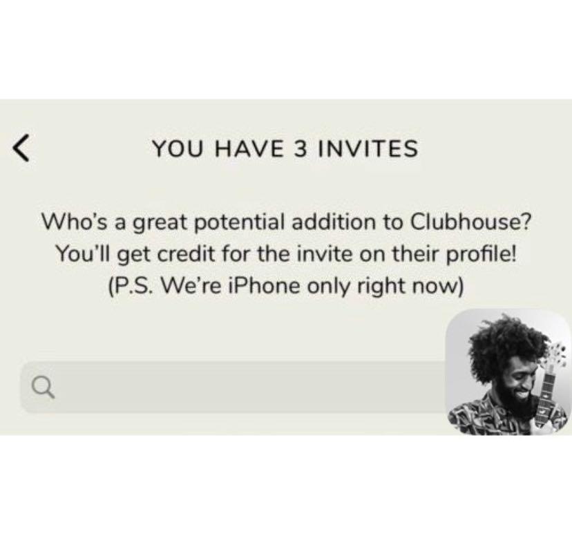 Clubhouse 邀請碼 * 限iphone club house 矽谷 通訊 社群媒體 最潮App
