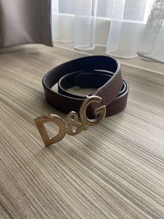 D&G皮帶(歐洲購回正品)