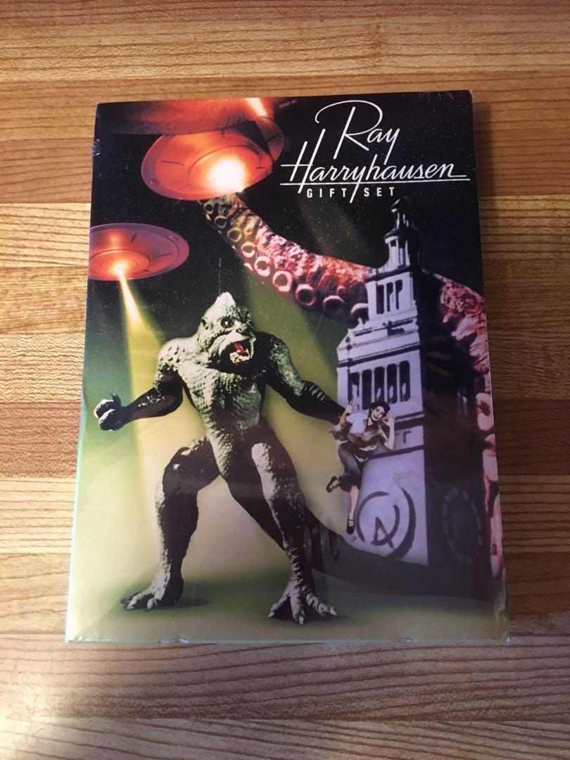 DVD BOX SET-RAY HARRYHAUSEN-MONSTER,SCI FI
