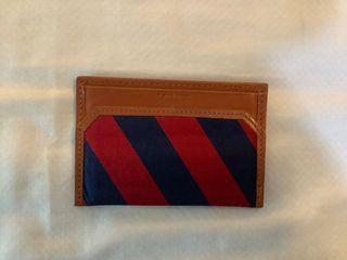 J Crew Leather ID Card Case Wallet Coach MK Kors Kate Spade Marc Jacobs