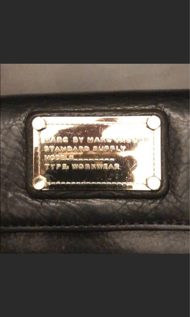 Marc Jacobs trifold long wallet