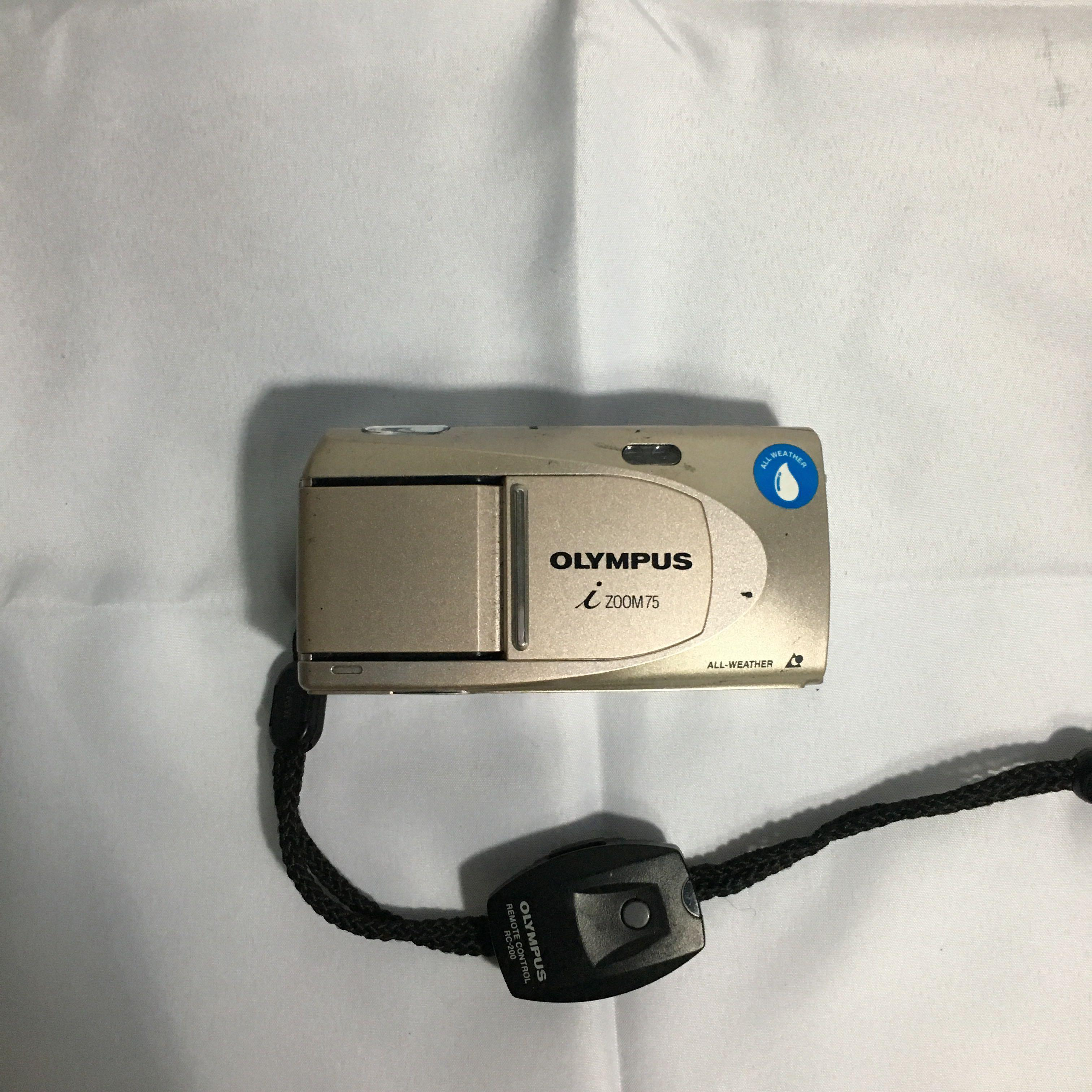 Olympus I-Zoom 75 APS Film Camera