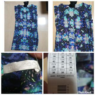 Promod dress with butterfly print