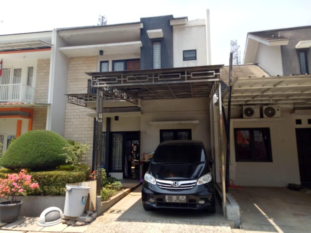 Rumah Second Cluster 2 Lantai, Siap Huni di Pinggir Jalan Raya Pekayon Jaya Bekasi