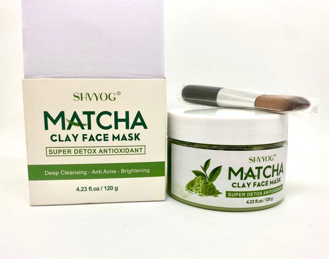 SHVYOG Matcha Clay Face Mask