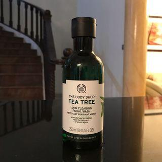 The Body Shop Facial Fash Tea Tree