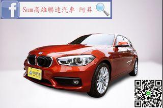 🚗2018 總代理 BMW 118i 1.5 僅跑4千2公里,全車原版件,原廠新車保固中