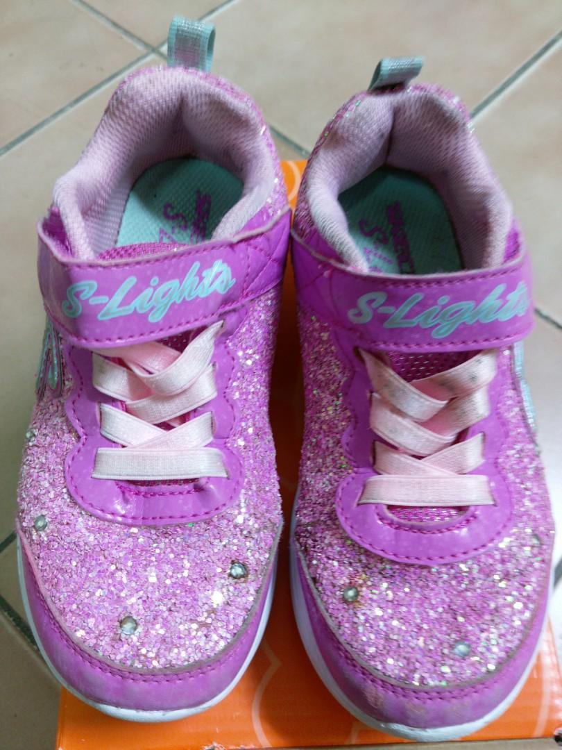 SKECHERS 女童鞋#17CM