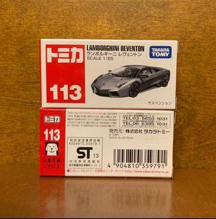 全新未開封 Tomica 113 Lamborghini Reventon 每架HK$30