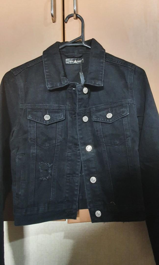 Ally Fashion Long Sleeve Denim Jacket