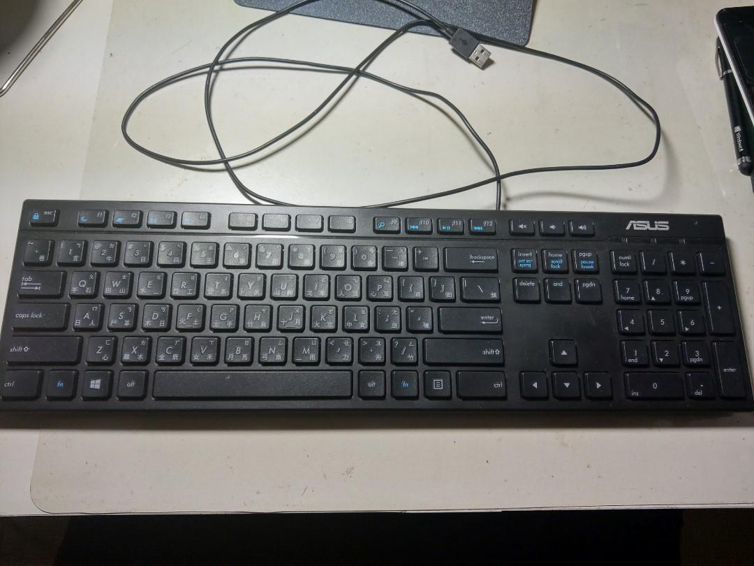 ASUS KEYBOARD巧克力鍵盤🎹