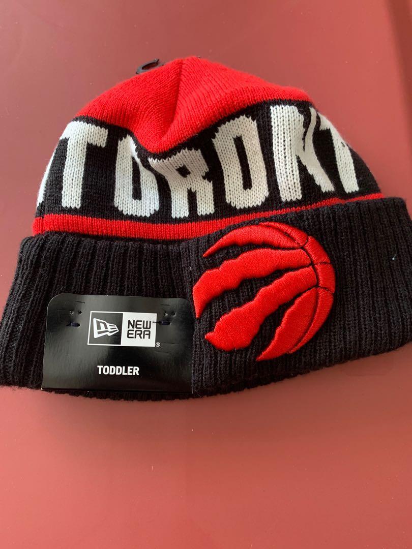 Brand new toddler New Era Toronto Raptors winter toque