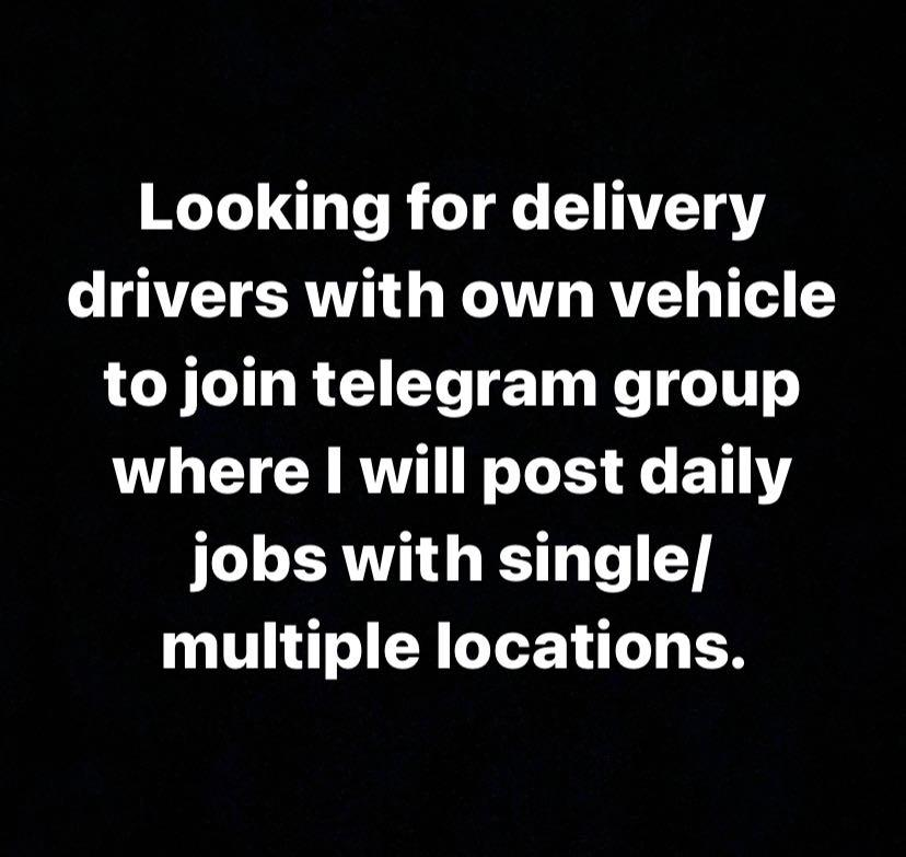 Delivery/ courier