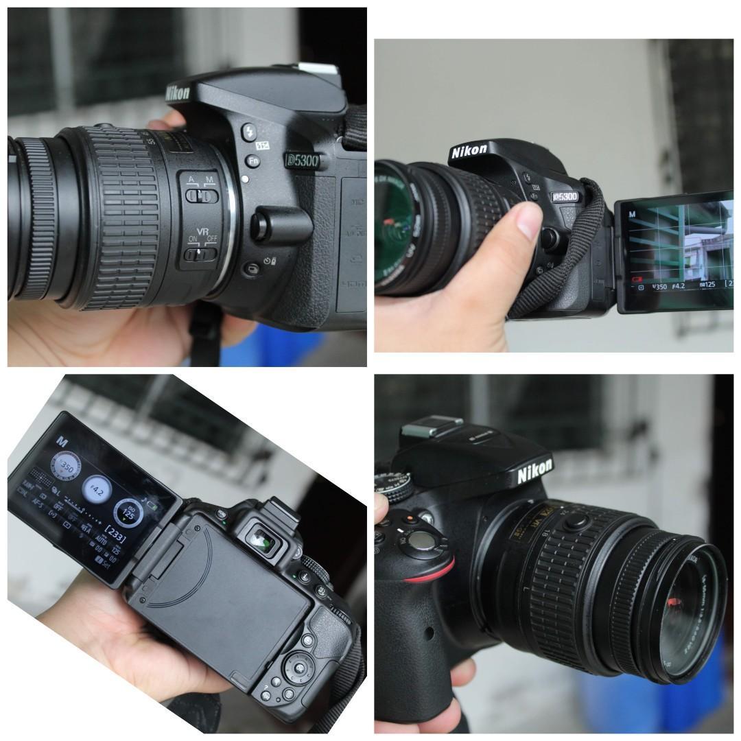 dslr camera  d5600 , d5300, d5200 , d3200 , d3400 , nikon 1200d, 1300d canon flipscreen