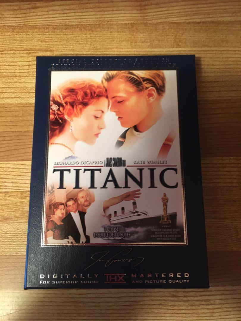 DVD COLLECTABLE SET-TITANIC-3 DISC