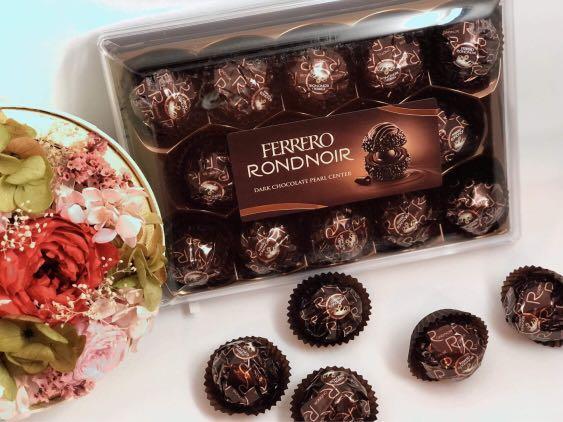 Ferrero Rondnoir 德國代購 奢華黑金莎禮盒 14顆入