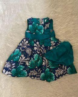 Gymboree green dress
