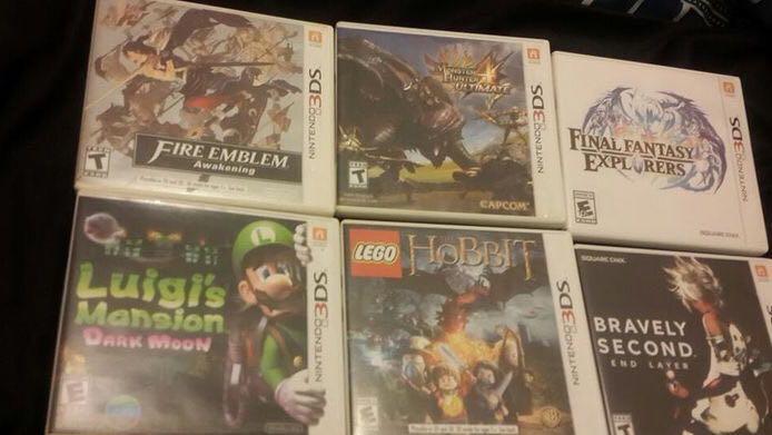 Kaset Nintendo 3DS