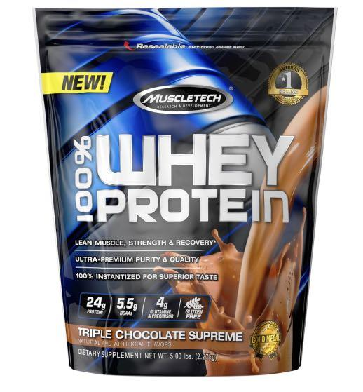 Muscletech whey protein 5lbs chocolate