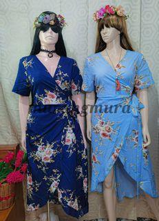 Plussize Wrappedaround Dress