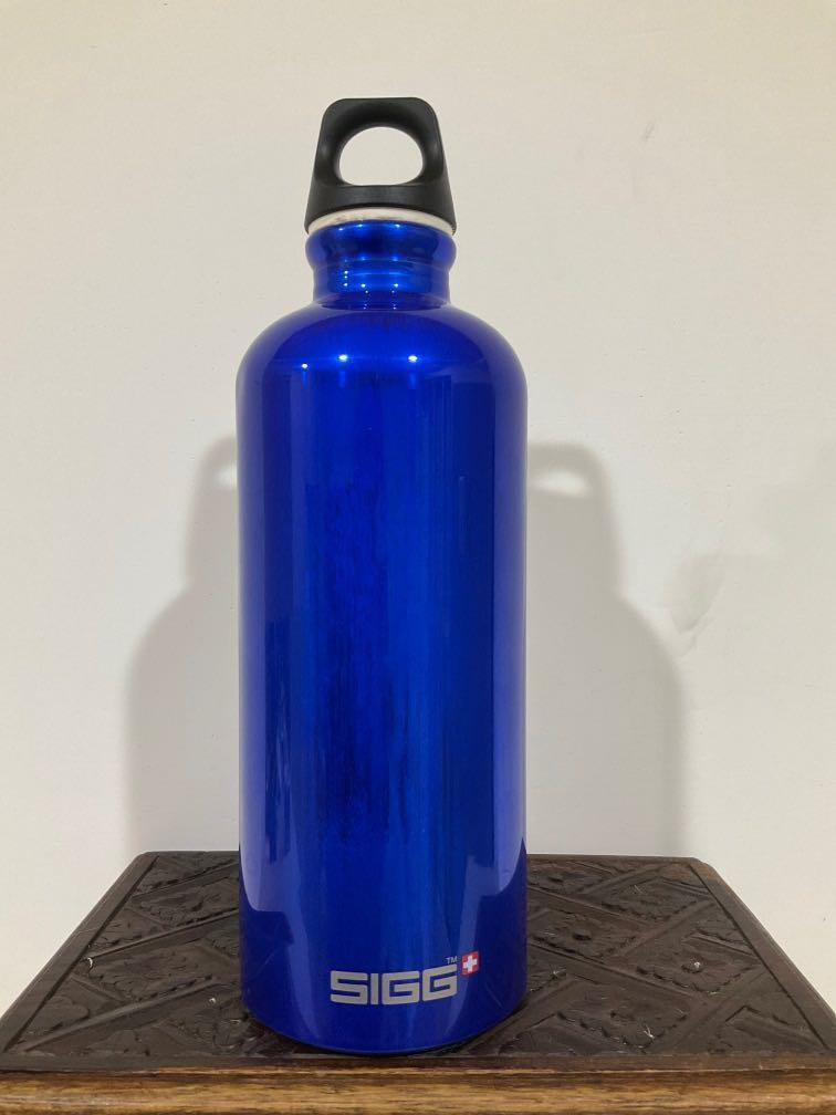 瑞士SIGG Traveller 旅行家經典鋁瓶 0.6L 深藍亮面水壺